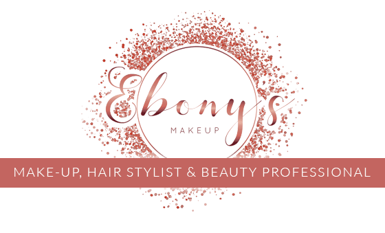 Ebonys Kent Makeup Artist Price List. Bridal, Bridesmaids, Mother of Bride Hair and Makeup trial